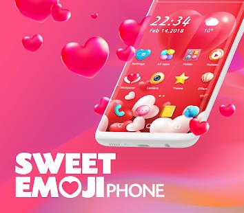 Sweet Emoji Phone for pc