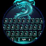 Neon Dragon Keyboard Theme Icon