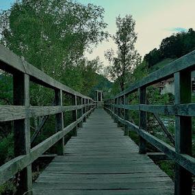 Devil footbridge by Iztok Urh - Buildings & Architecture Bridges & Suspended Structures