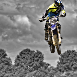by Mike Ross - Sports & Fitness Motorsports ( mud, motorbike, motocross, mike ross, milton malsor, airborne, mx, flying high, acu )