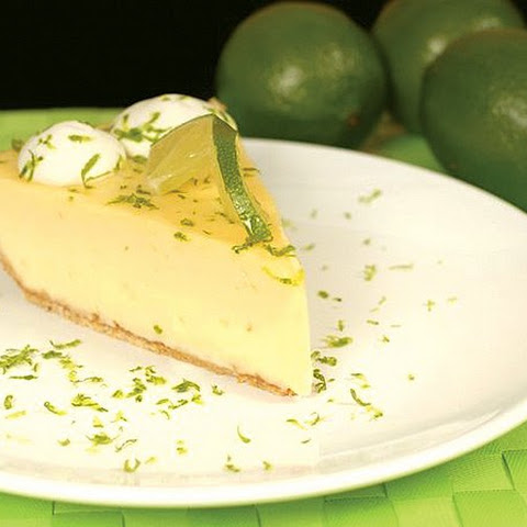 Skinny Key Lime Pie