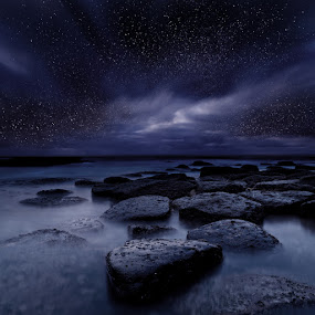 Night enigma by Jorge Maia - Landscapes Starscapes