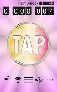 Tap-app - screenshot