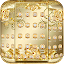 Free Download Gold Rose Theme Royal Gold APK for Blackberry