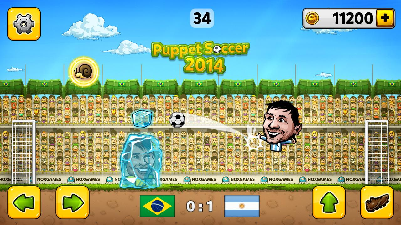 Puppet Soccer 2014 - Football Screenshot 0