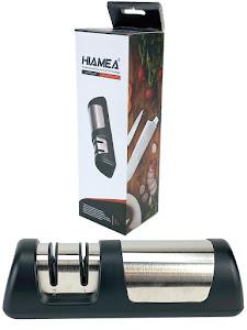 Точилка для ножей (ножеточка) двухзонная настольная стальная