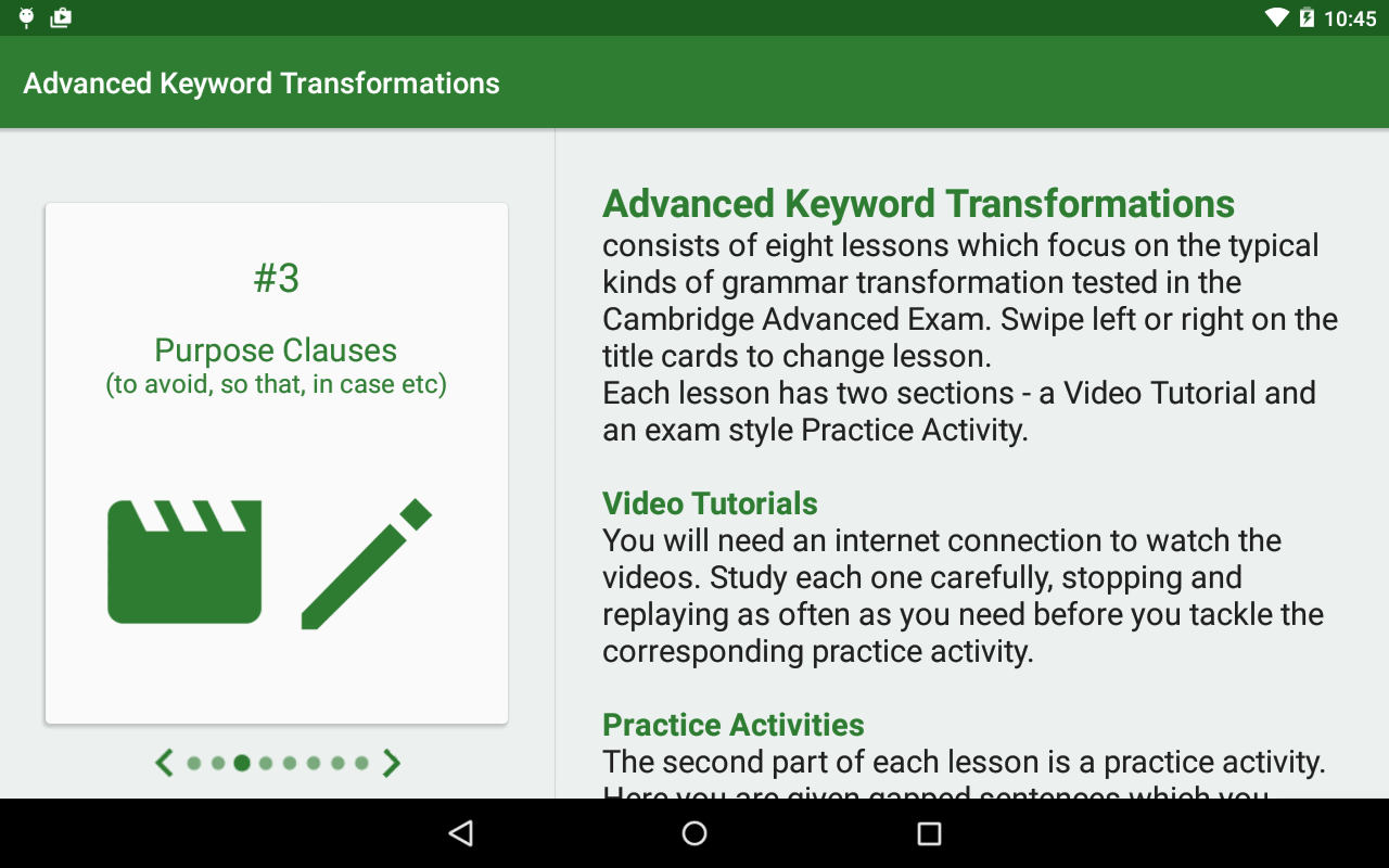 Advanced Keyword Transforms Screenshot 7