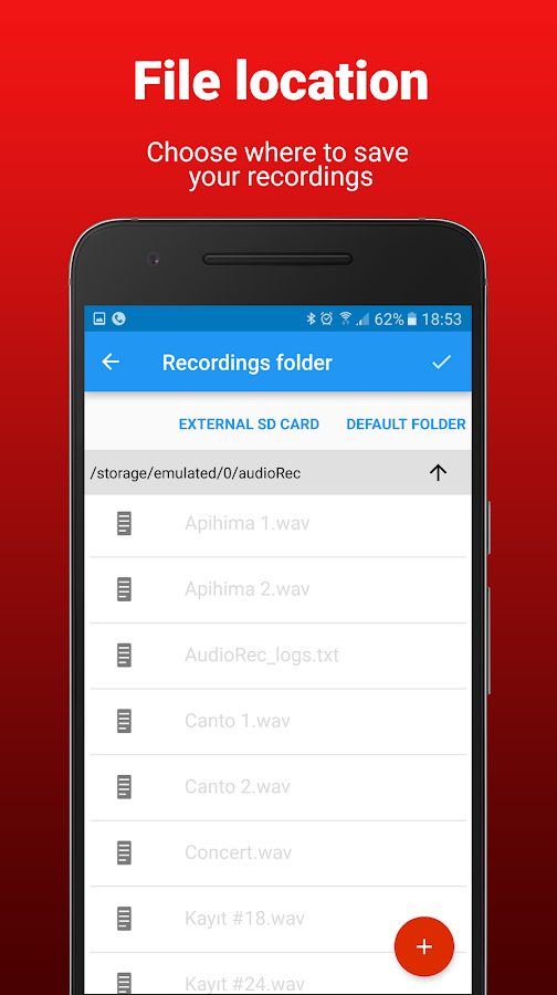 AudioRec Pro - Voice Recorder Screenshot 5