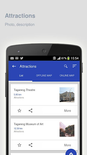 Taganrog: Offline travel guide - screenshot