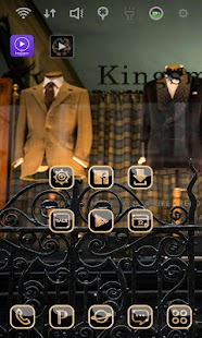 Kingsman: HARRY launcher theme - screenshot