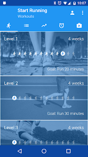 Run! Start Running Fitness app screenshot for Android