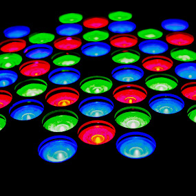 Colorful Lights by Kokien Photography - Artistic Objects Other Objects ( lights, colorful, beautiful, artistic, circle, object )