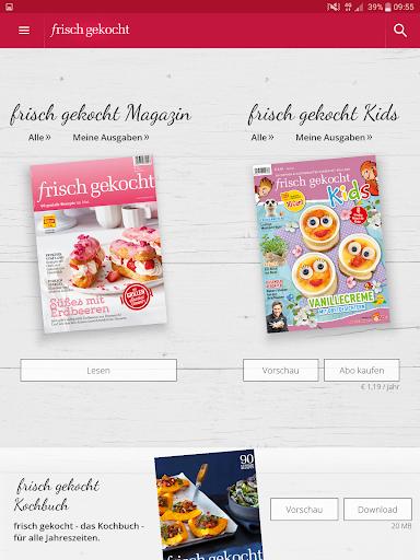 Frisch Gekocht Rezepte - screenshot