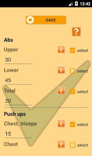 9 minute home workout Easy Up - screenshot