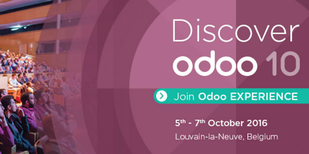 Odoo Experience 2016 - screenshot