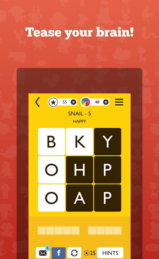 WordTrek - Word puzzles game Screenshot 1