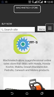 Mactech-store - screenshot