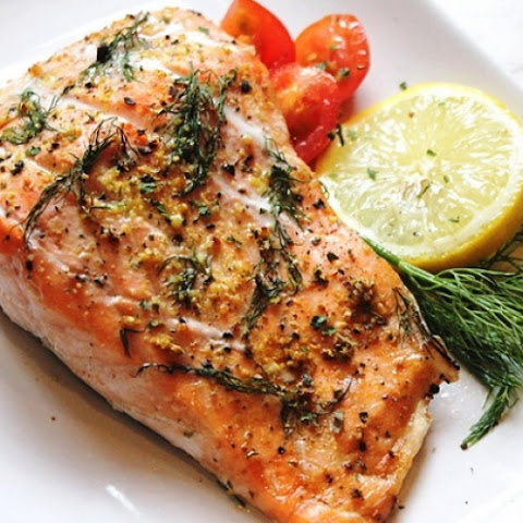 Salmon Baked In The Oven