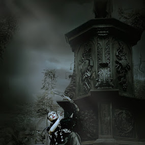 GOTHIC IN DUTCH GRAVE by Sef  Miko - Digital Art People ( people )