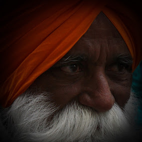 Sikh Man by VAM Photography - People Portraits of Men ( sikh, nyc, culture, portrait, man,  )