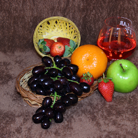 Fresh by Hemang Shukla - Food & Drink Fruits & Vegetables ( malta, grapes, apple, strawberry )