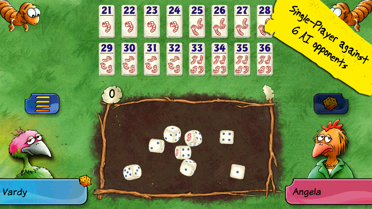 Pickomino by Reiner Knizia Screenshot 2