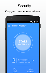 Tencent WeSecure Screenshot