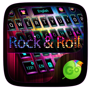 Rock & Roll GO Keyboard Theme
