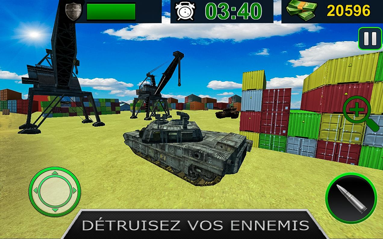 Army Tank Battle War Armored Combat Vehicle android spiele download