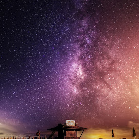 Milky Way by Wojciech Toman - Landscapes Starscapes