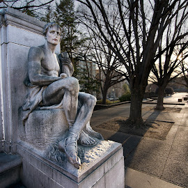 James Buchanan Memorial Part II by Glen Fortner - Buildings & Architecture Statues & Monuments ( dc, washington, meridian hill park, capital, james buchanan )