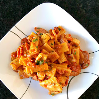 One Pot Sun-Dried Tomato Pasta with Sausage