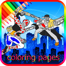 coloring spider game