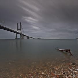 Summer Rain by António Leão de Sousa - Buildings & Architecture Bridges & Suspended Structures ( ponte vasco da gama,  )