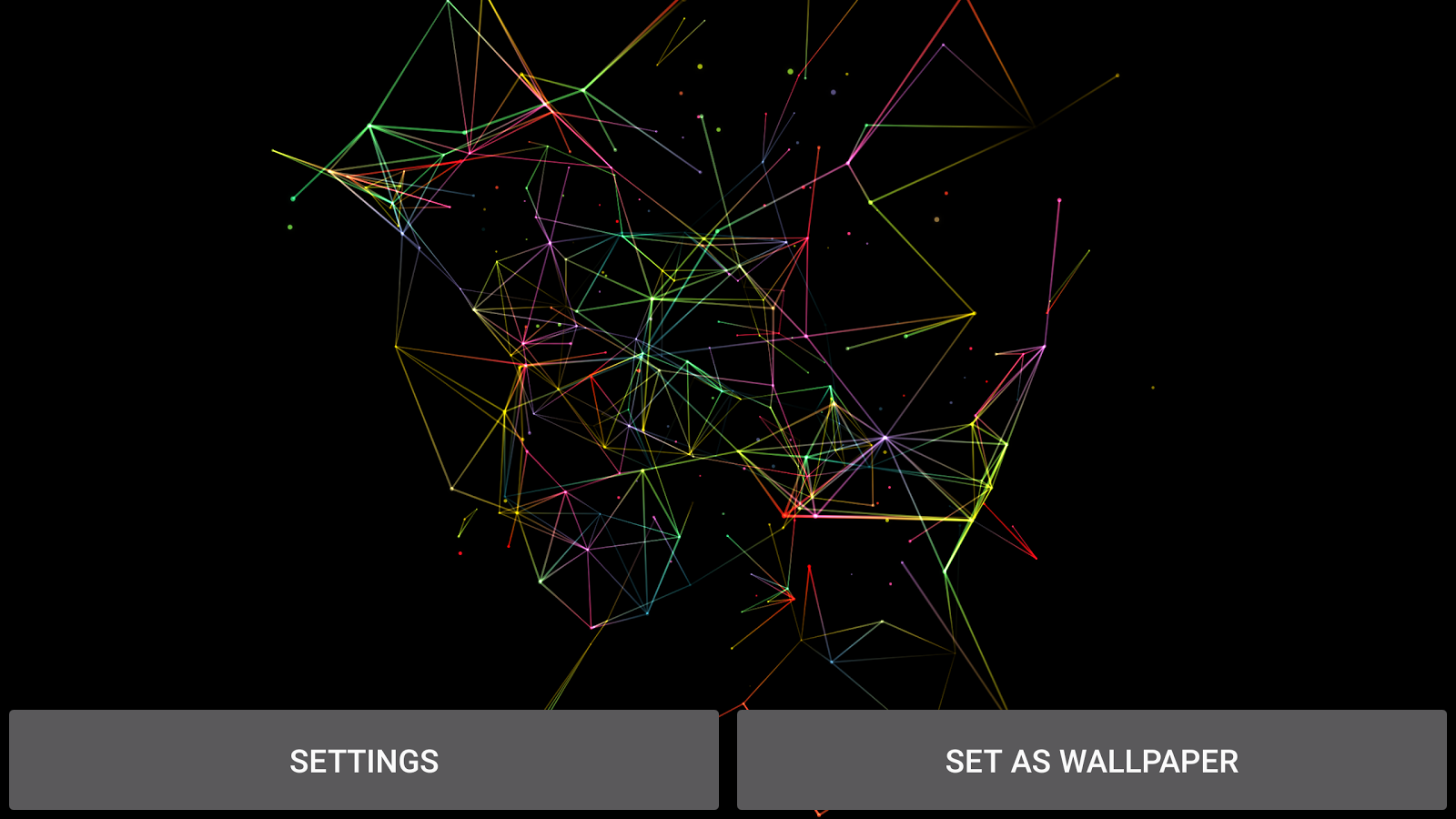 Particle Plexus Live Wallpaper Screenshot 13