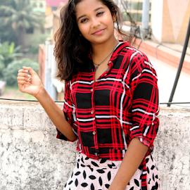 Cute Princess by Rajib Chatterjee - People Portraits of Women