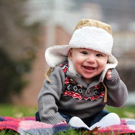 Alex by Tony Bendele - Babies & Children Child Portraits ( child, happy, outdoors, children, fun, smile, people, portrait )