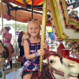 Riding  by Virginia Howerton - Babies & Children Child Portraits ( ride, child, play, fun, fair )