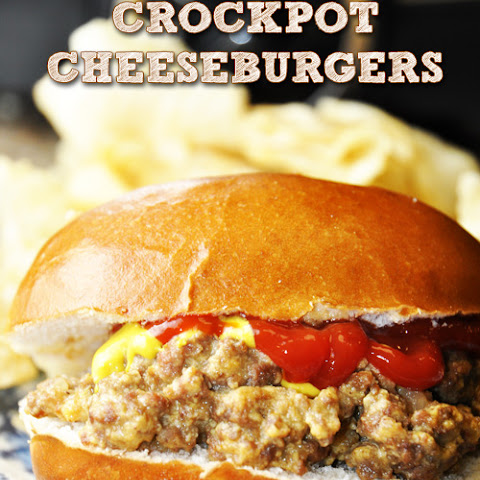 Crock Pot Cheeseburger Sandwiches