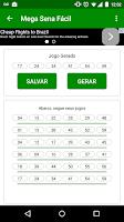Screenshot of Mega Sena Fácil