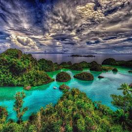 by Halim Jaya - Landscapes Travel ( clouds, water )