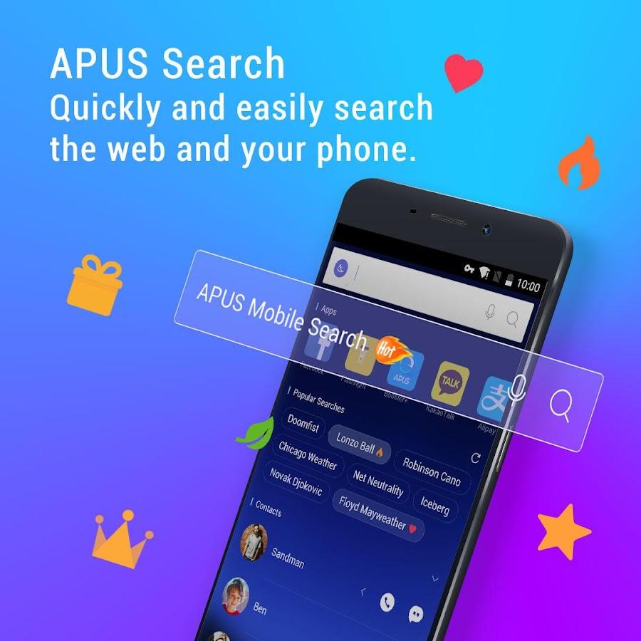 APUS Launcher - Theme, Hintergrundbilder, Boost, Ausblenden Apps android apps download