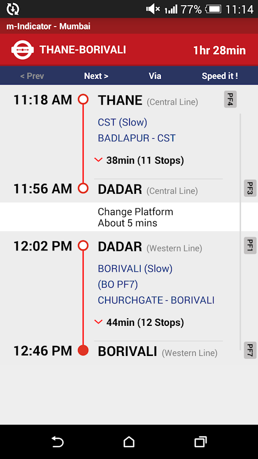 m-Indicator - Mumbai - Pune Screenshot 3
