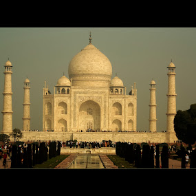 Taj Mahal by Vyom Saxena - Buildings & Architecture Statues & Monuments