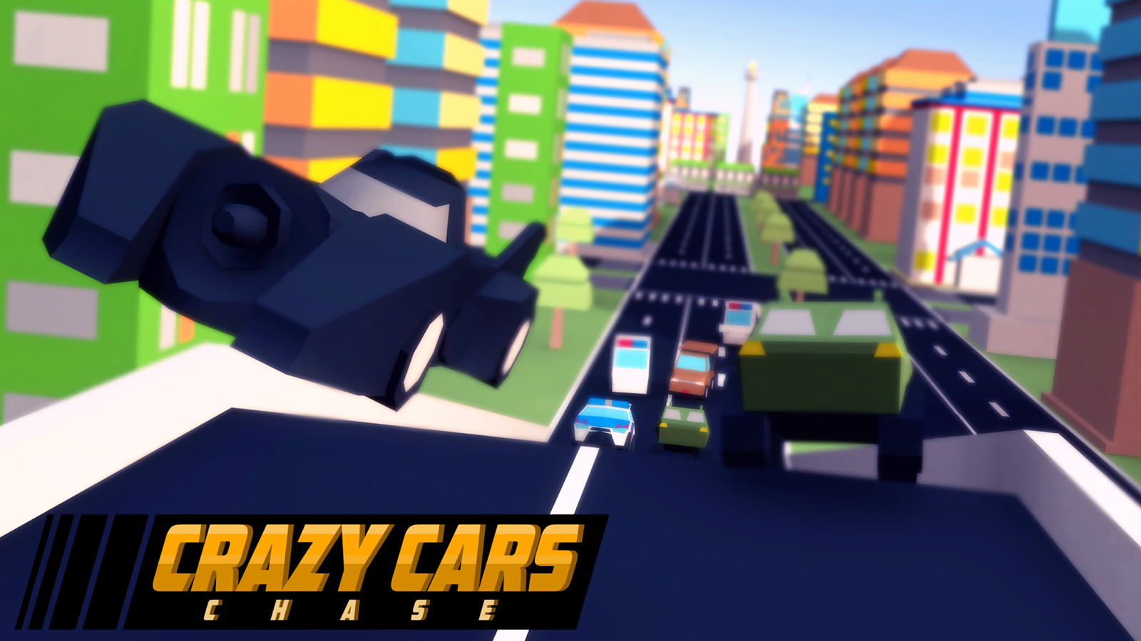 Crazy Cars Chase Screenshot 1