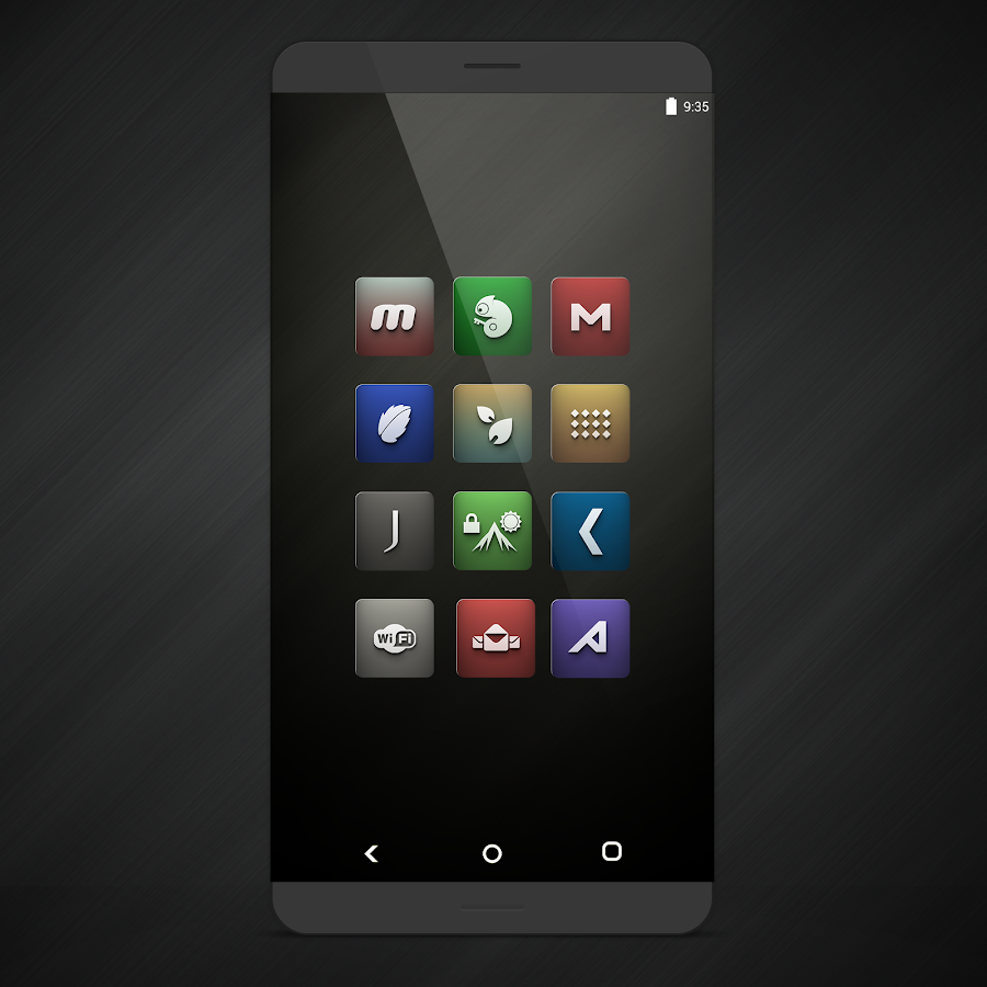 Orion UI Icon Pack Screenshot 2