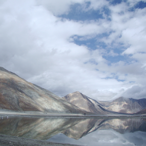 Reflection by Raajesh Thakur - Landscapes Waterscapes ( clouds, mirror, reflection )