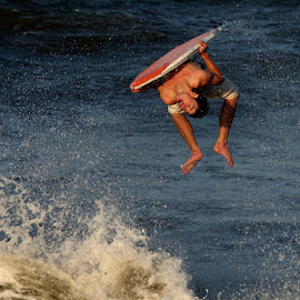Boogie Board Surfer by Louis Pretorius - Sports & Fitness Surfing