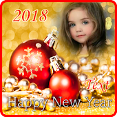 New Year Photo Frames APK for Bluestacks