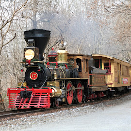 Northern Central Railroad by Jay Olin - Transportation Trains ( steam train, train, pennsylvania, historical, transportation )